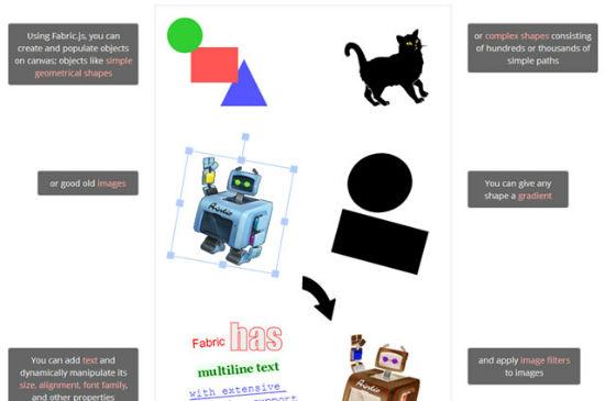 Html5 canvas Frameworkler ve fabricjs dersi.
