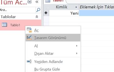 Windows c# uygulaması Access Veri tabanı ekleme, düzenleme, silme işlemleri